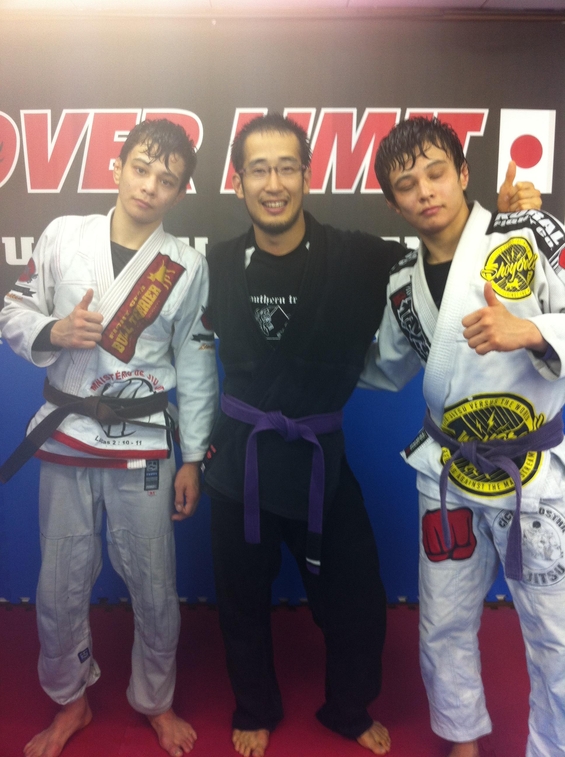 Drill Press Guard >> Miyao Brothers Japan 2012 – Living BJJ